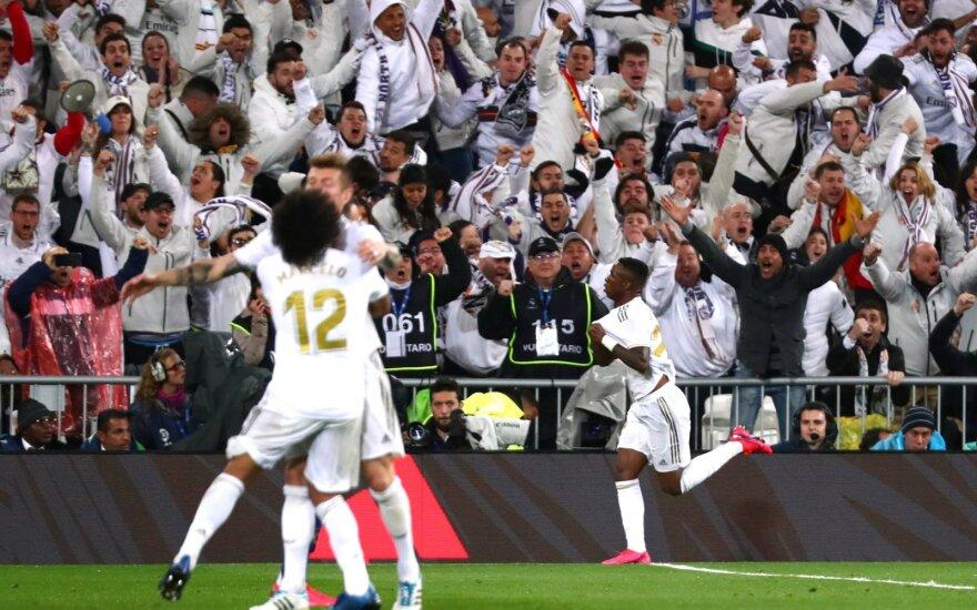 "19-metis nulėmė žūtbūtinę ""Real"" pergalę ""El Clasico"" mūšyje"