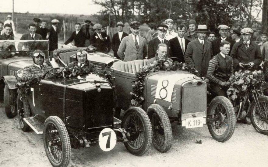 Istorinės Lietuvos automobilių sporto akimirkos