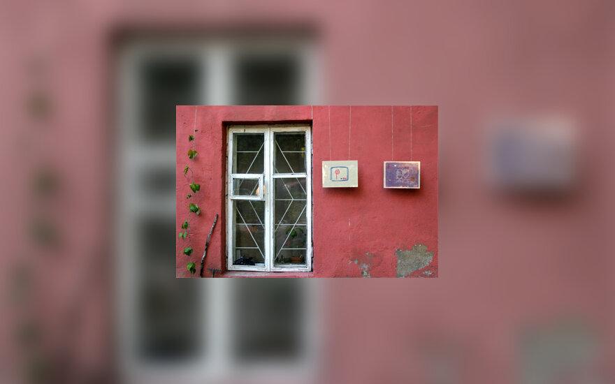 """Projekto """"Menas netikėtose erdvėse"""" eksponatai"""