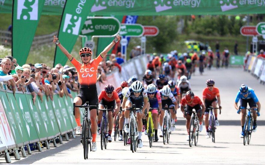 "Leleivytė – pirmame ""Giro d'Italia"" etapo dešimtuke"