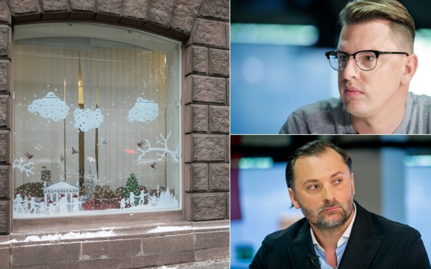 Išrinkta gražiausia Vilniaus vitrina kelia aistras