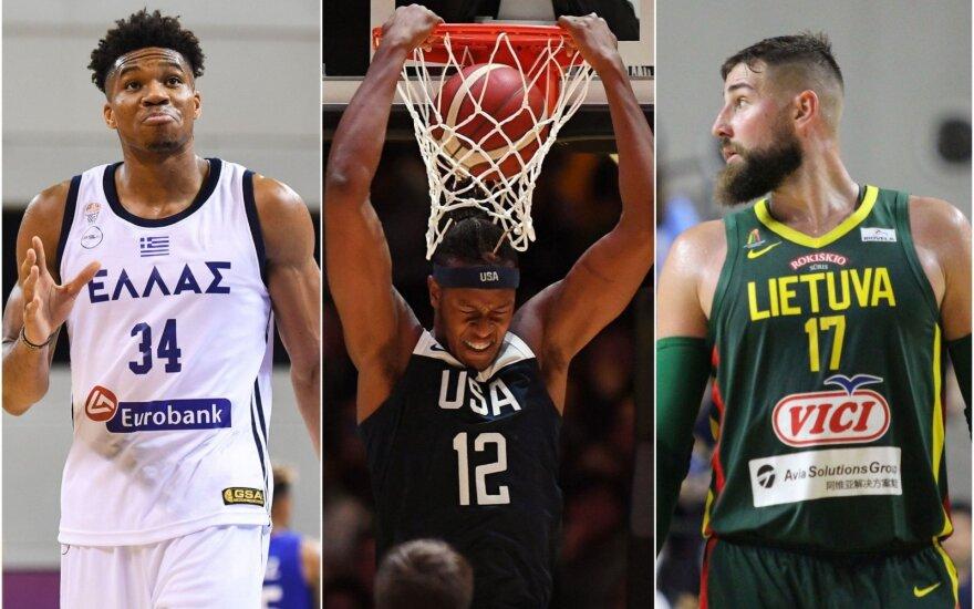 Antra pasaulio čempionato diena: mūšio lauke – JAV, Giannio Graikija ir Lietuvos rinktinė