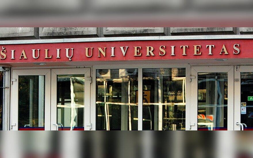 Šiaulių universitete slopintas maištas