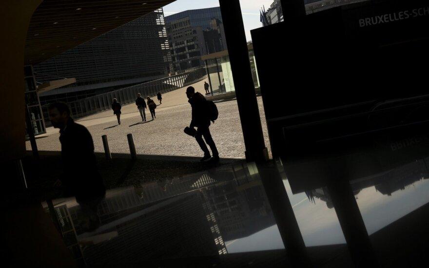 Briuselio pakraštyje prie geležinkelio tilto rastas paketas su sprogmenimis
