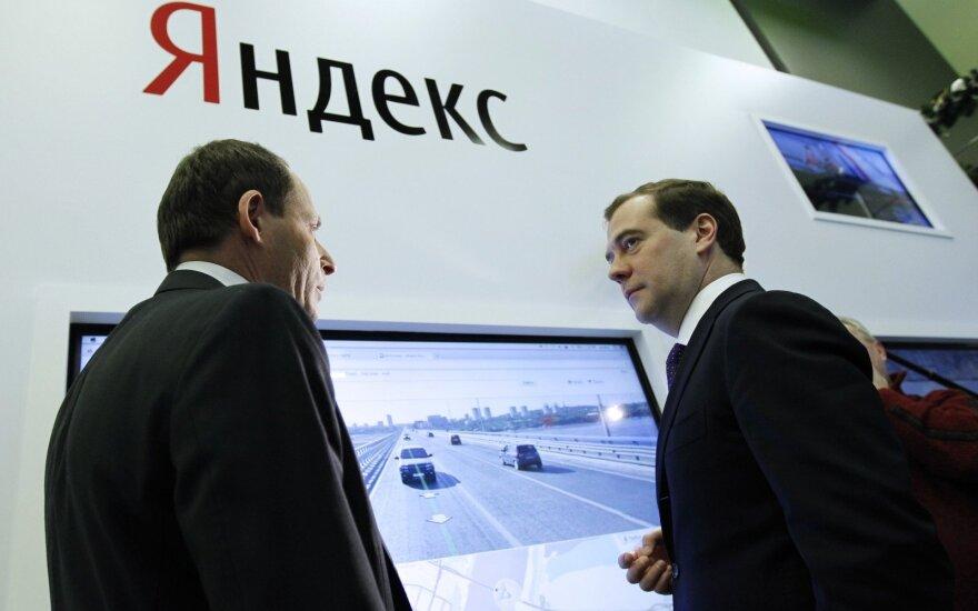 """Yandex"" kurs technologiją autonomiškiems automobiliams"