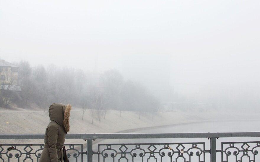 Orai: laukia žiemiškų orų šėlsmas