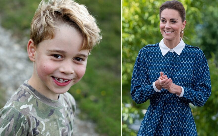 Princas George'as ir Kate Middleton