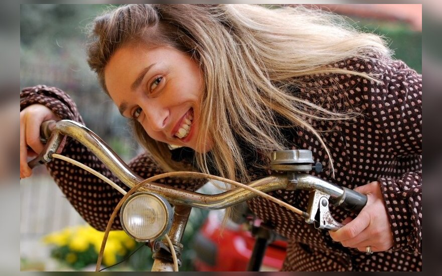 Po Kuldygą dviračiu