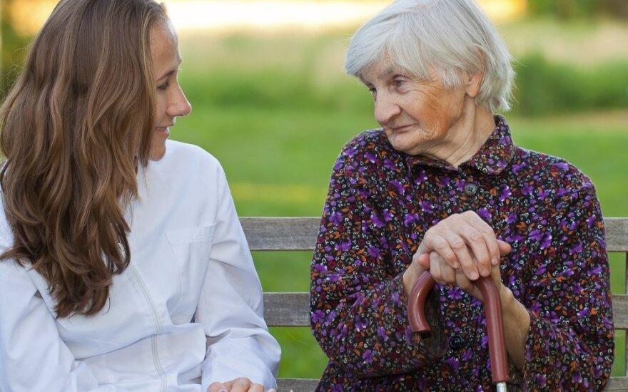 Psichologė: išgirdus ligos diagnozę visų žmonių reakcija yra panaši