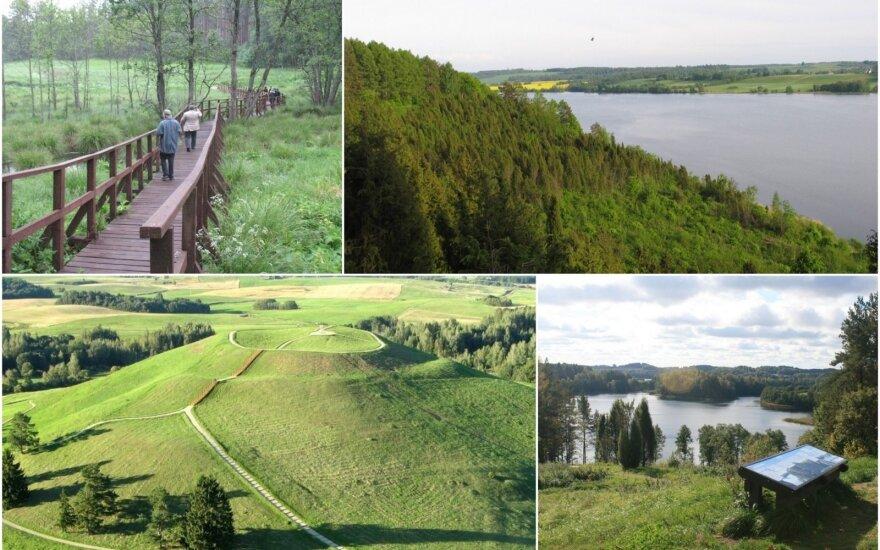 Saugomos teritorijos Lietuvoje