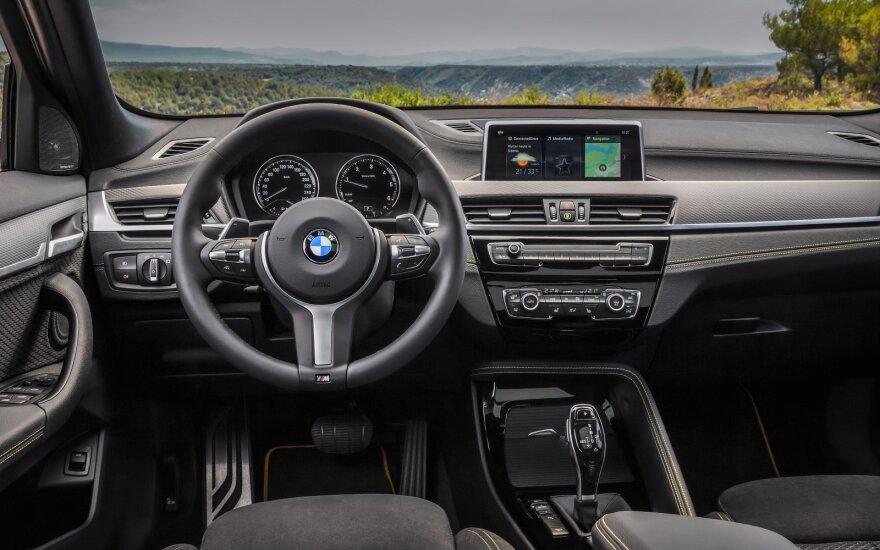 Vagis labai masina BMW markės automobilių detalės