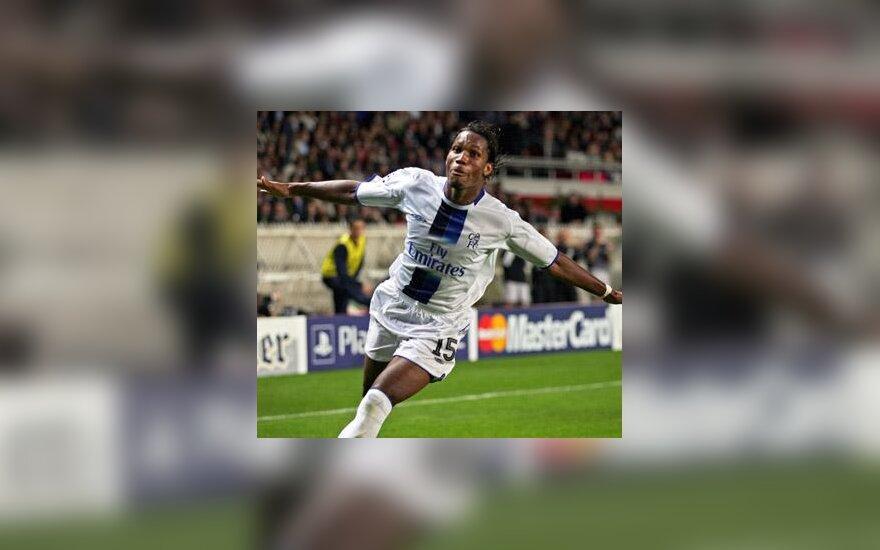 """Didier Drogba (Londono """"Chelsea"""")"""