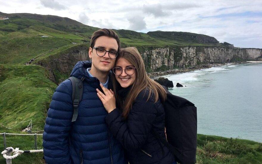 Lukas ir Roberta keliauja po Šiaurės Airiją