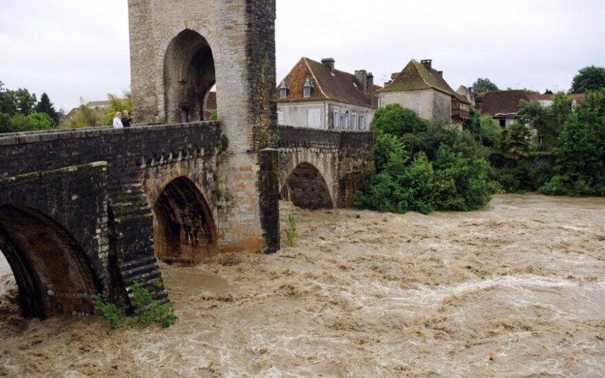Potvyniai Prancūzijoje