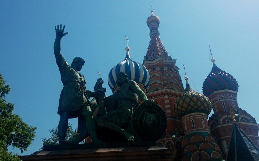 Rusija pasirengusi iš šalies išsiųsti 30 JAV diplomatų