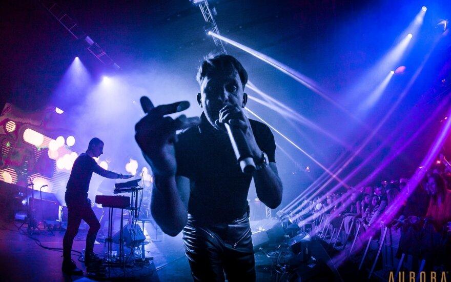 SEL koncerto Dubline akimirkos /Foto: Edvinas Gramatinš
