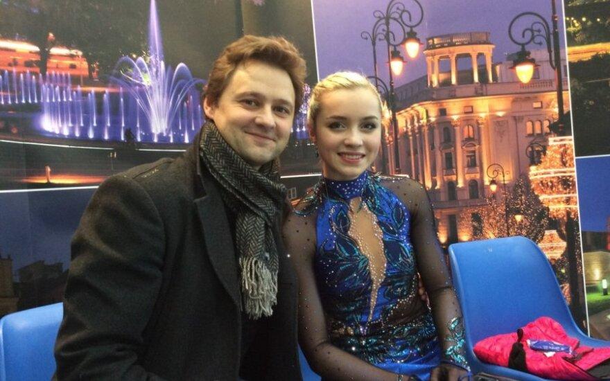 Dmitrijus Kozlovas ir Aleksandra Golovkina