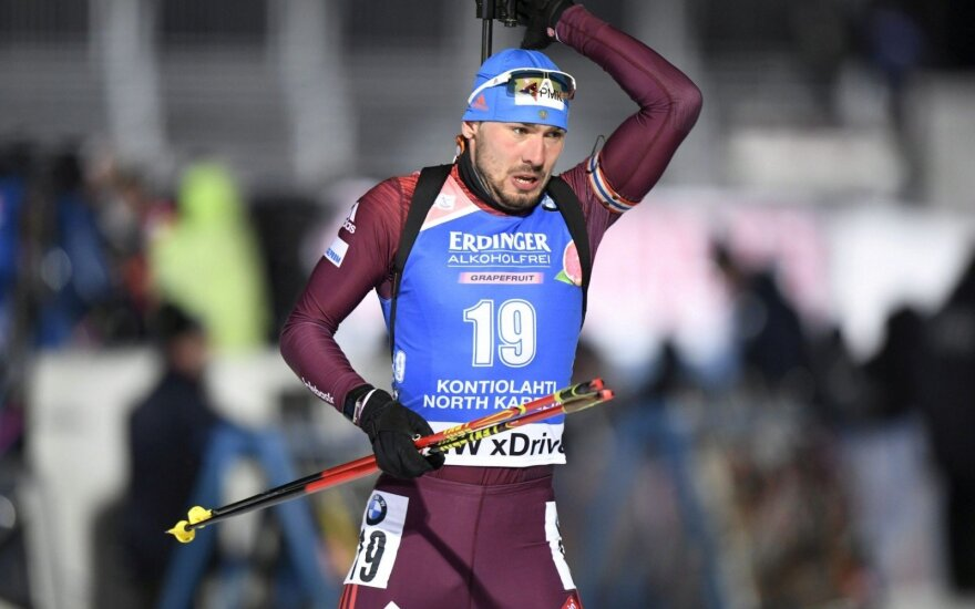 Dopingo skandalų įkarščio neištvėręs Rusijos biatlonininkas baigė karjerą