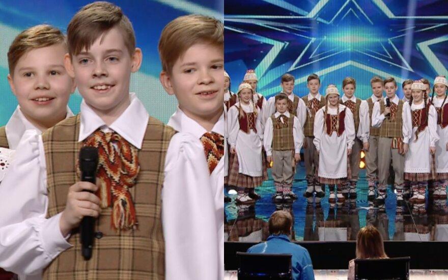"""Šokių ansamblis """"Pynimėlis""""/Foto: TV3"""