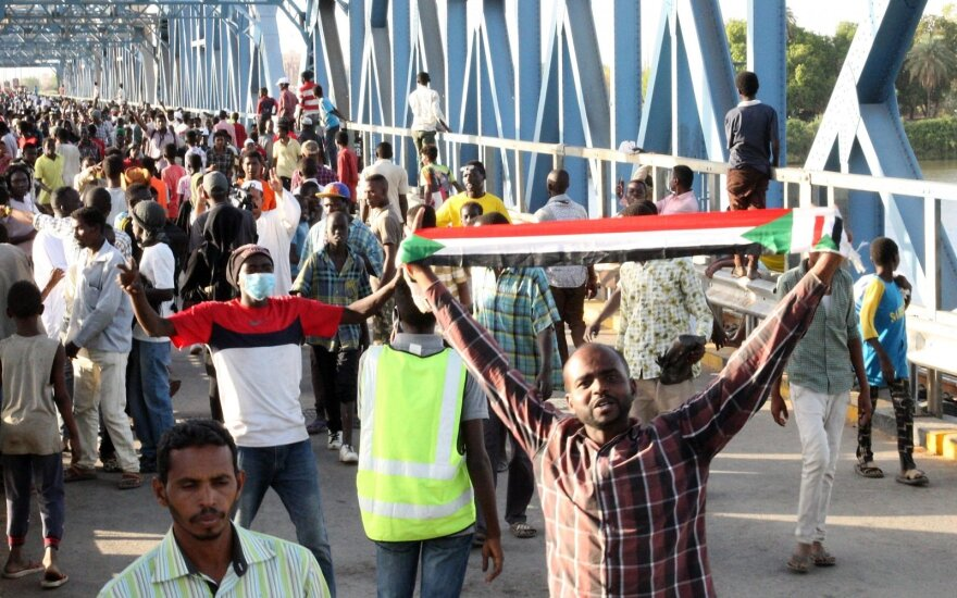 Protestuotojai Sudano sostinėje Chartume