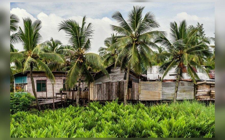 Šalia Papua Naujosios Gvinėjos įvyko 6,4 balo drebėjimas