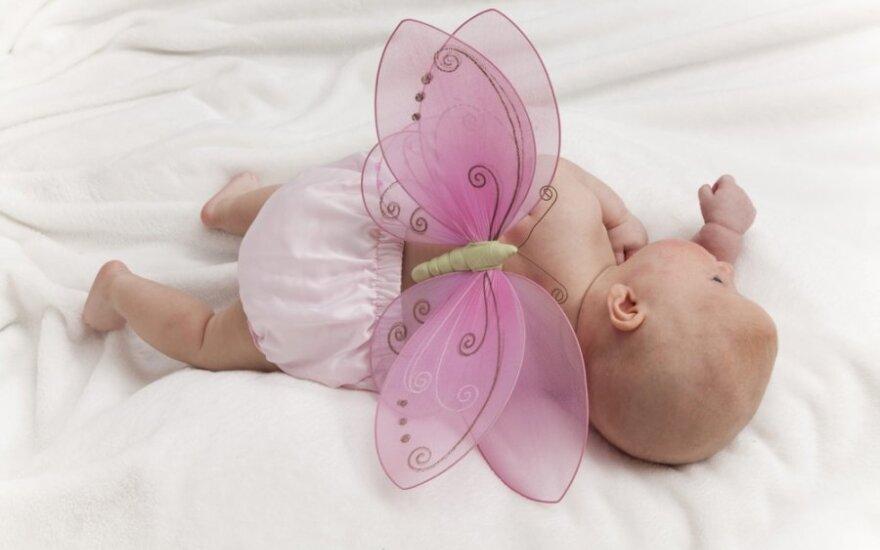Greitas kūdikių augimas gali būti susijęs su astma