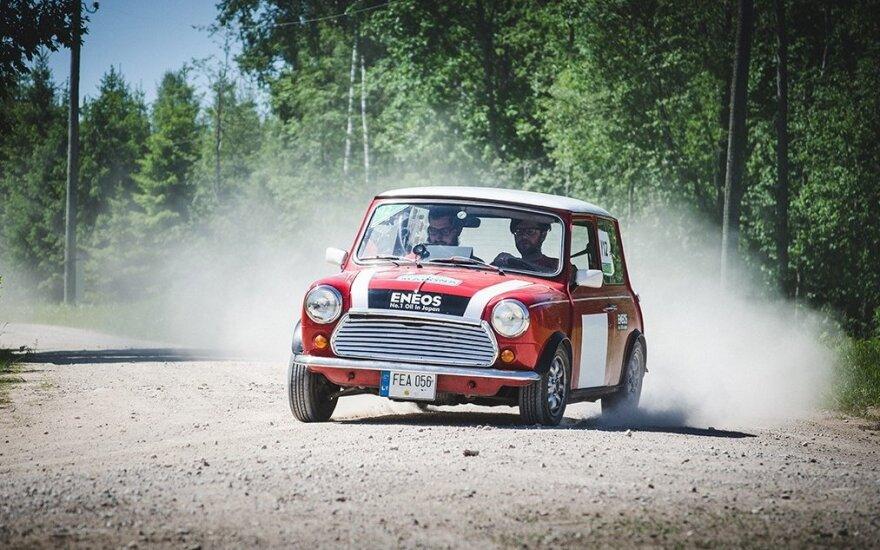 Klasikinių automobilių ralis Madona 2015
