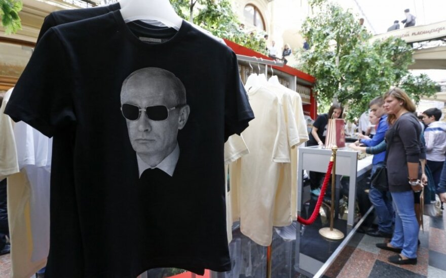 Rusė apie V. Putiną: pirmą kartą didžiuojuosi