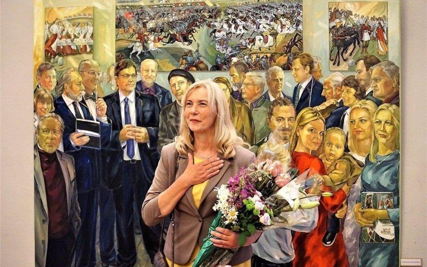 Kvietimas apsilankyti Valstybės šimtmečiui skirtoje tapybos darbų parodoje