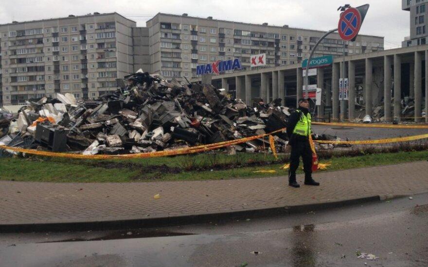 Prokuroras: tragedijos prekybos centre negalima laikyti žmogžudyste