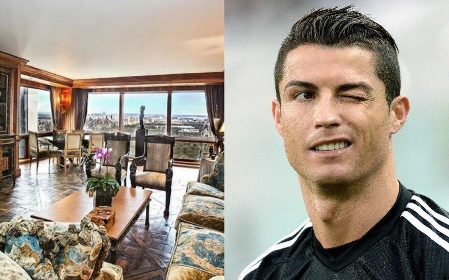 Cristiano Ronaldo butas Niujorke