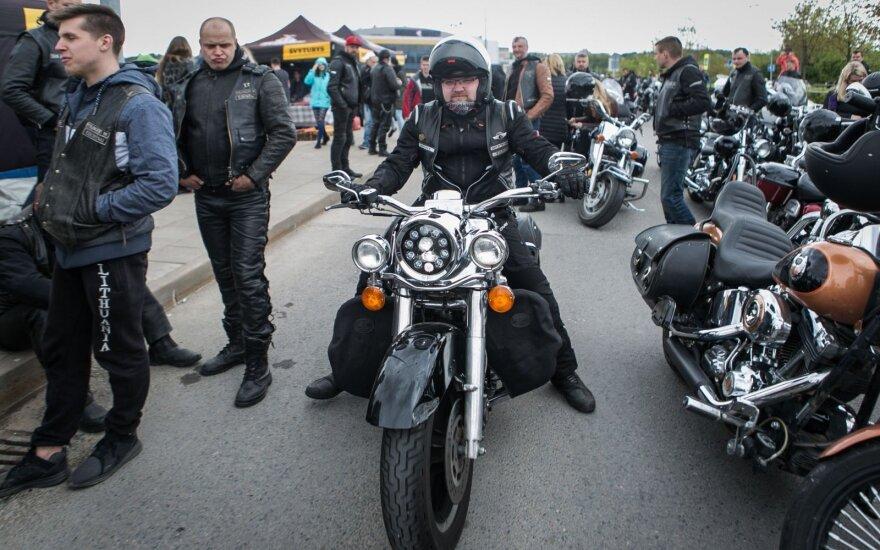 Motociklininkų sezono atidarymas
