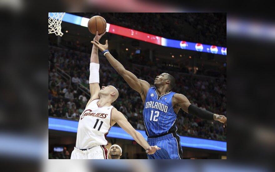 """""""Cavaliers"""" su Ž.Ilgausku - NBA lygos lyderė"""