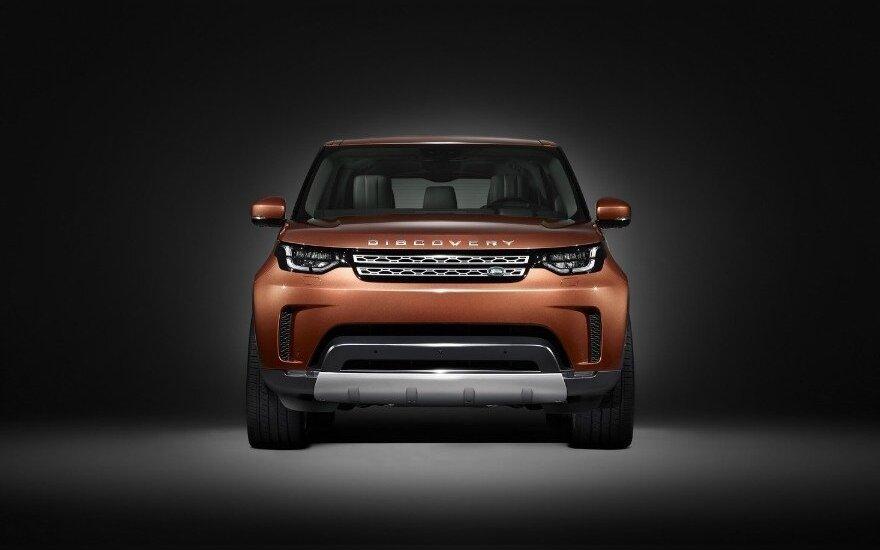 """Naujasis """"Land Rover Discovery"""""""