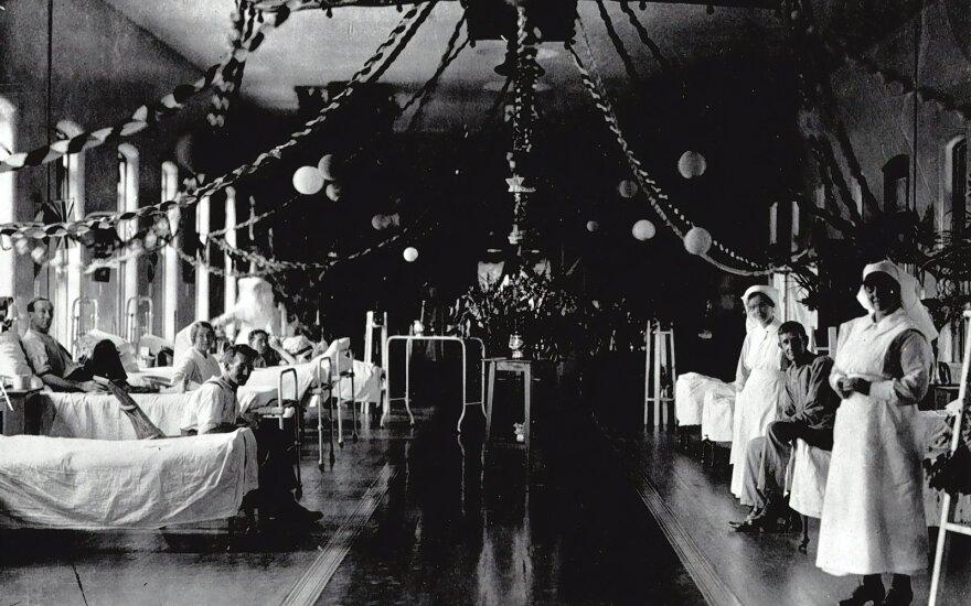 Kalėdos ligoninėje. Asociatyvi nuotr.
