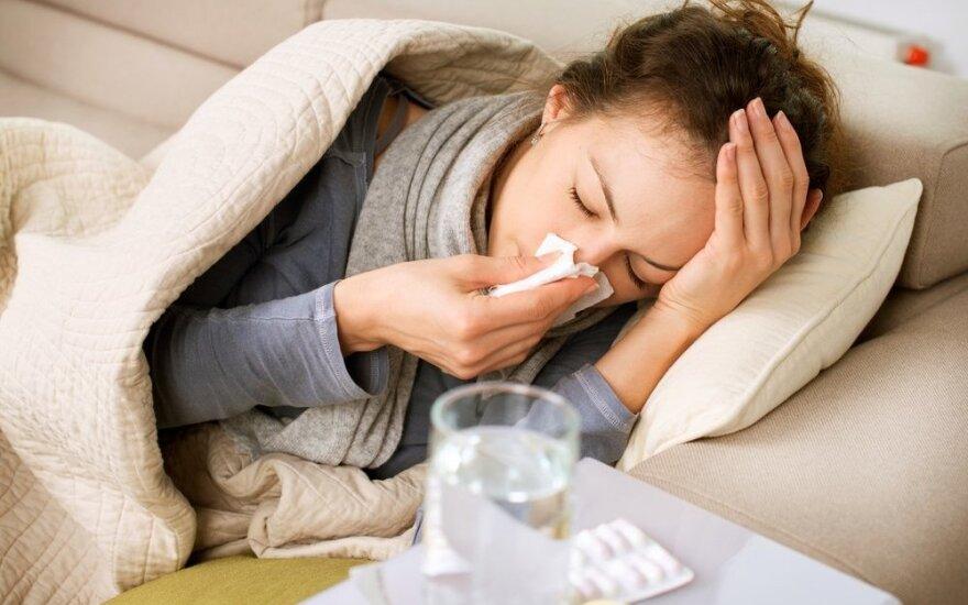 Pavasarinis rebusas: tik peršalimas ar rimtesnė liga?