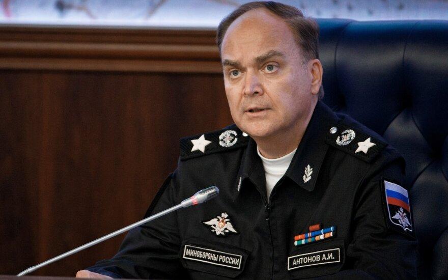 ES pratęs sankcijas Rusijai ir išsaugos apribojimus Rusijos ambasadoriui JAV