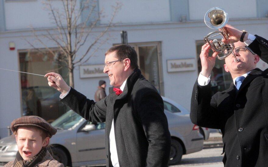 Vytautas Šerėnas  ir Edmundas Jakilaitis