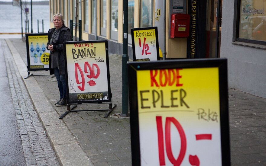 Prekių ir paslaugų kainos Norvegijoje