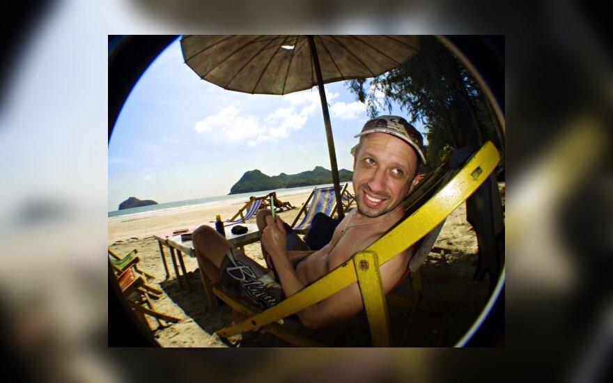 Linas Adomaitis Tailande