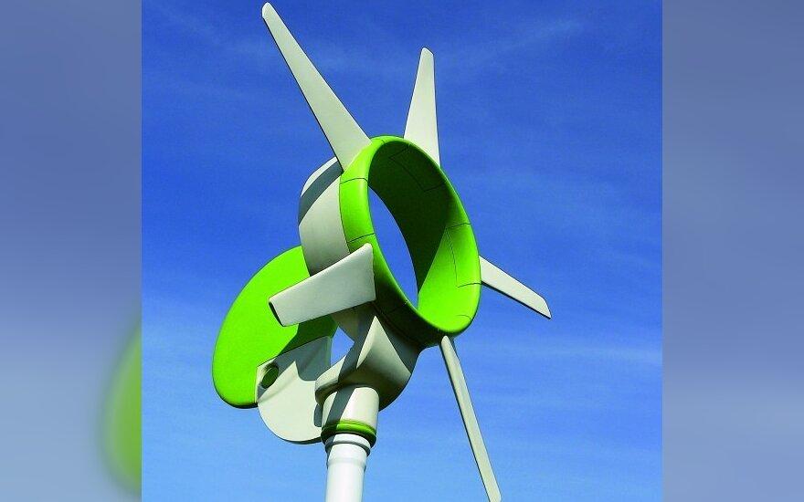 Vengrų dizainerio Kálmán NYILAS sukurtas mobilus vėjo generatorius