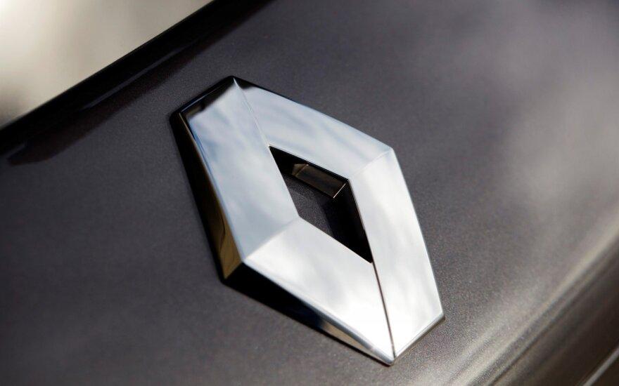 """""""Renault"""" rengiasi pasirašyti sutartį dėl bendrosios įmonės Irane"""