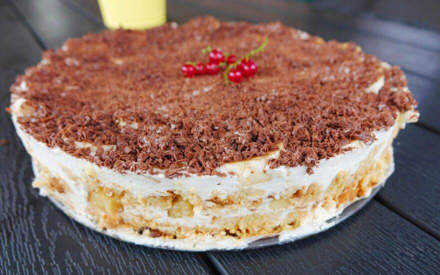 Tinginių rojus, arba tortas, kurį kartosite dar ne kartą