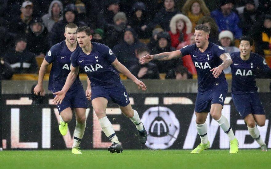 Londono Tottenham triumfas