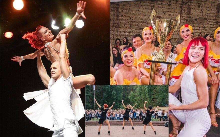 """Šokių studijos """"City Dance"""" šokėjai"""