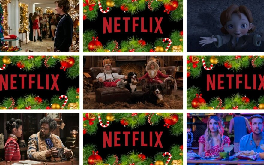 """Naujų kalėdinių filmų sąrašas """"Netflix"""" platformoje"""