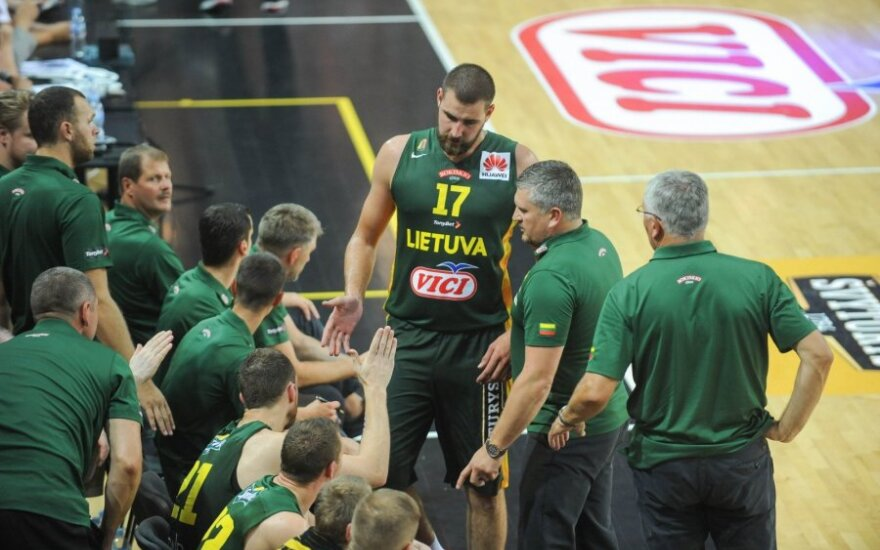 Draugiškos rungtynės: Lietuva - Austrija