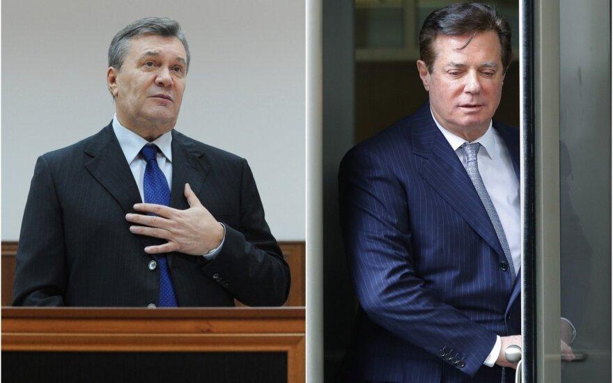 Buvusiam Trumpo bendražygiui pareikšta naujų kaltinimų: akys krypsta į Janukovyčių
