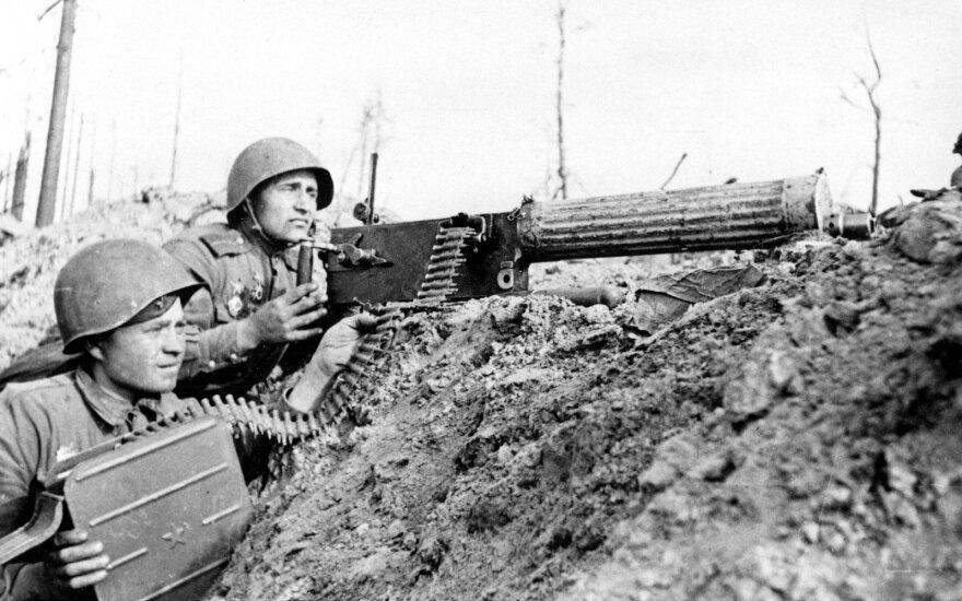 Sovietų kariai. Antrasis pasaulinis karas