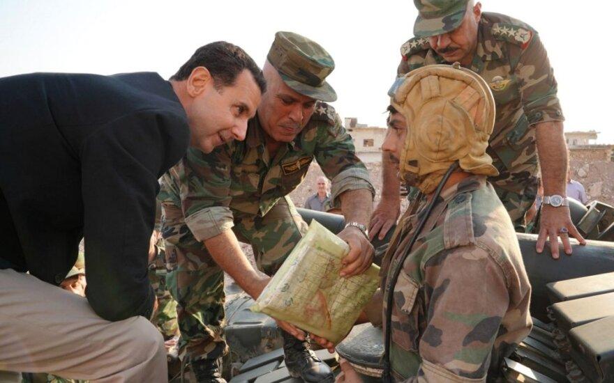 Basharas al Assadas lanko karius Idlibe